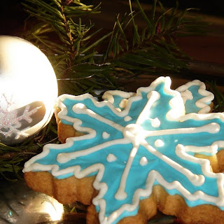 Tiffany Snowflake Cookies