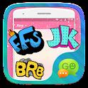 GO SMS ABBREVIATION STICKER icon