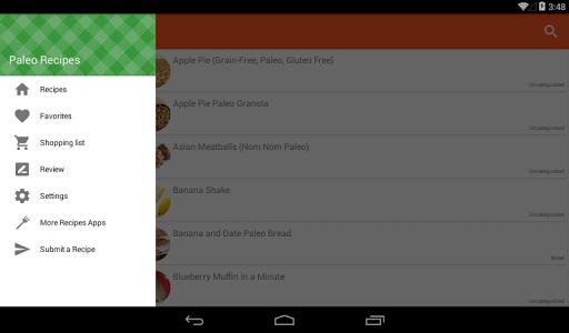 玩免費遊戲APP|下載Paleo Diet Recipes app不用錢|硬是要APP