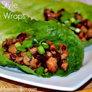 Asian Style Lettuce Wraps {Copycat PF Changs}