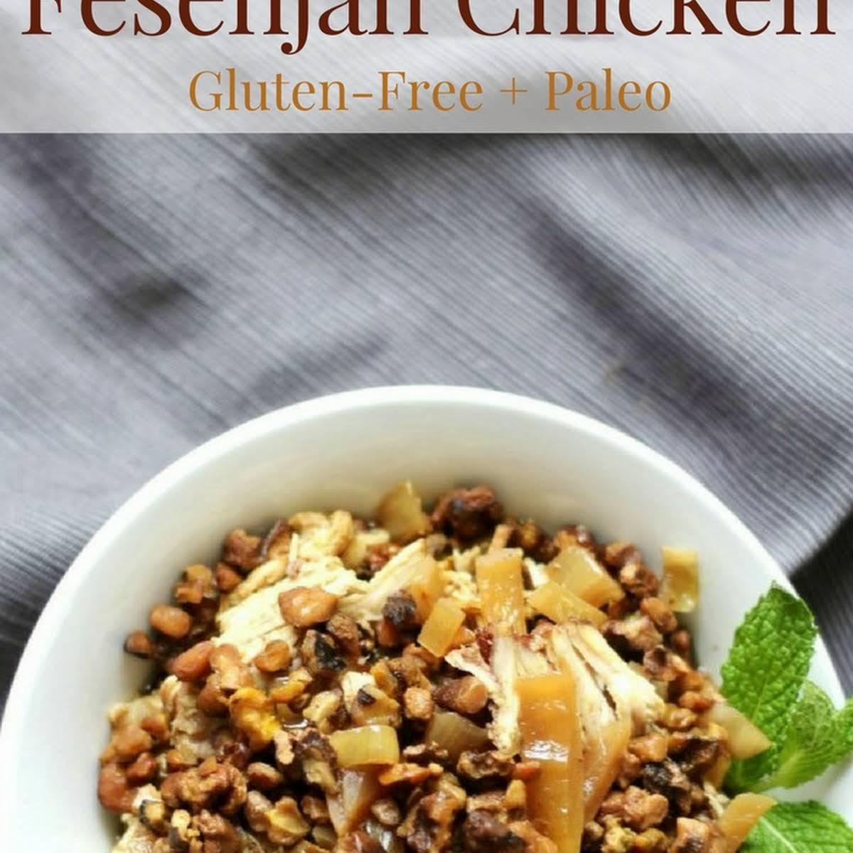 Slow Cooker Fesenjan Chicken Gluten Free Paleo