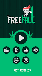 Free Fall - Ninja Escape- screenshot thumbnail