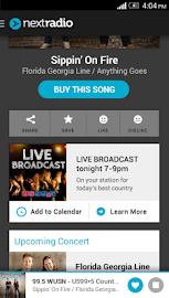 NextRadio - Free Live FM Radio Screenshot 3