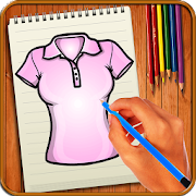 Learn to Draw Clothes by Buzz Apps Club icon