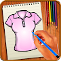 Learn to Draw Clothes APK icon
