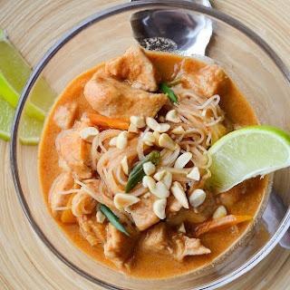 Crock Pot Thai Chicken Stew.