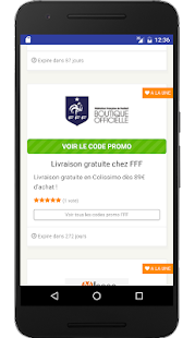 Couponer.fr - Code promo- screenshot thumbnail