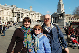 Photo: London with the Parents