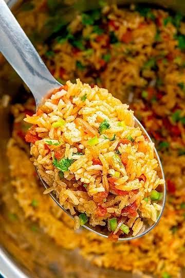 Easy Instant Pot Spanish Rice Video Recipe - BellyRulesTheMind