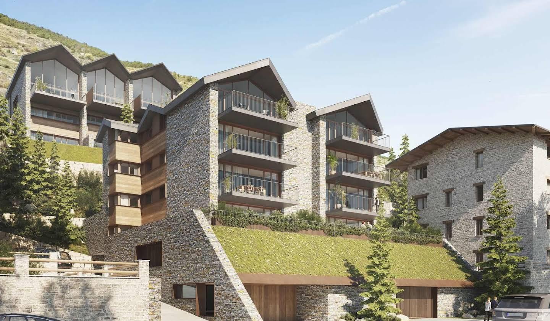 Appartement contemporain avec terrasse El Tarter