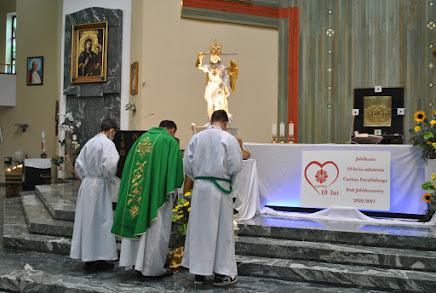 Peregrynacja figury Św. Michała - Jubileusz Caritas - 2010-2020 - dzień trzeci - 06.09.2020