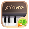 (FREE) GO SMS PRO PIANO THEME icon
