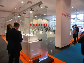 """Photo: 2014 Aktion Plagiarius exhibit, recognizing """"the world's most flagrant counterfeits"""" #ambiente14"""