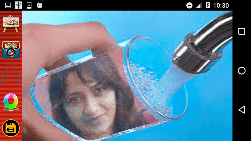 android Water Photo Frames Screenshot 3