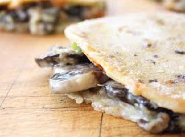 Grilled Portobello Mushroom Quesadillas Recipe