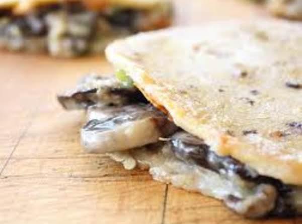 Grilled Portobello Mushroom Quesadillas