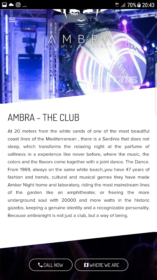 Ambra Night- screenshot