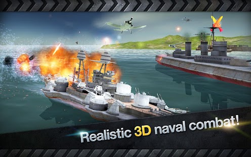 WARSHIP BATTLE: 3D World War II Screenshot