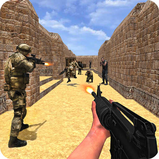 Counter Force Gun Strike Shootout: Anti-Terrorist