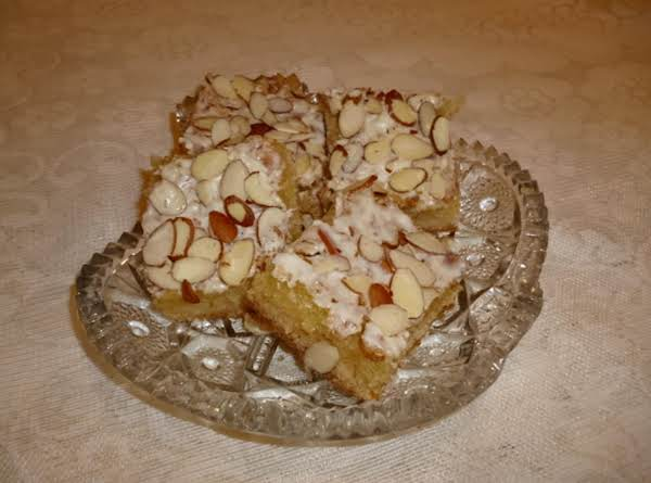 Elegant Almond Bars Recipe