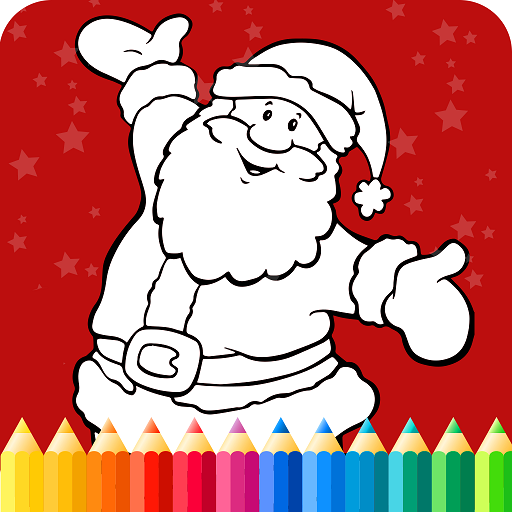 Christmas Coloring Pages For Kids Icon
