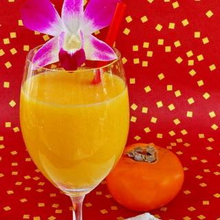 Fuyu Persimmon Fruit Juice Drink
