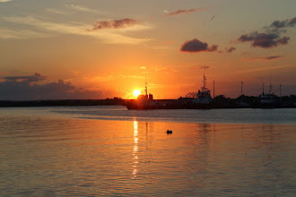 Photo: Sunset in Cienfuegos
