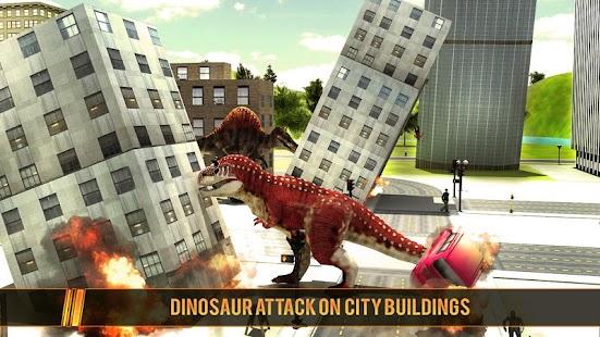 Wild Dinosaur Simulation Games 2017 - náhled