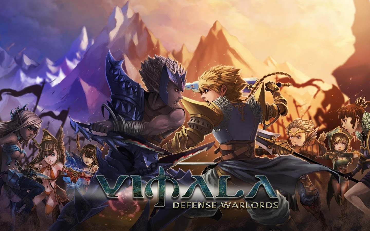 Vimala: Defense Warlords- screenshot