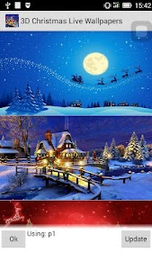 3D Christmas Wallpapers screenshot 5