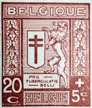 Photo: Antituberculeux (6-12-1926). Lion debout et croix de Lorraine. Timbre imprimé en typographie.