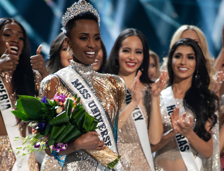 Miss SA Zozibini Tunzi was crowned Miss Universe in December 2019.