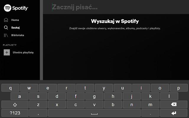 Native Virtual On-Screen Keyboard