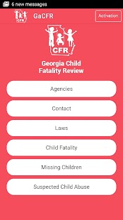 Georgia Child Fatality Review- screenshot thumbnail