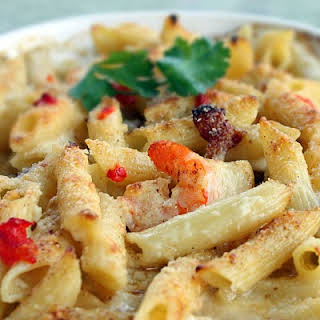 Copycat Macaroni Grill's Penne Rustica.