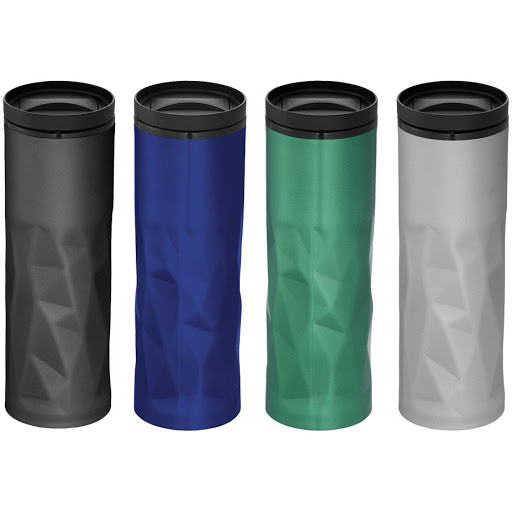Thermal Travel Mugs in Stainless Steel