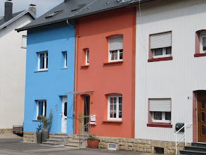 Photo: Day 21 - More Pastel Houses in Luxembourg #2