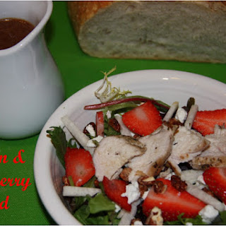 Chicken & Strawberry Salad