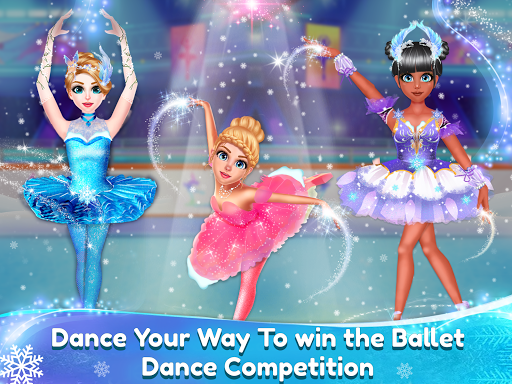 Ice Ballerina Dancing Battle: Dress Up Games ss1
