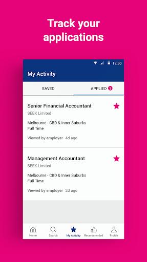 SEEK Job Search android2mod screenshots 3