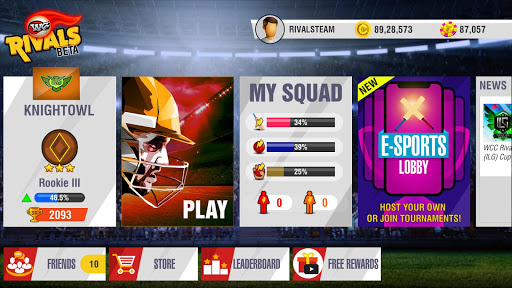 Code Triche WCC Rivals - Realtime Cricket Multiplayer APK MOD screenshots 3