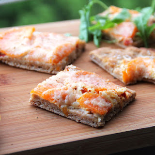 Yeast Free Spelt Pizza with Goat Cheese Recipe