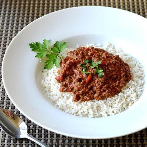 Sloppy Joe Over Rice Dinner Recipe