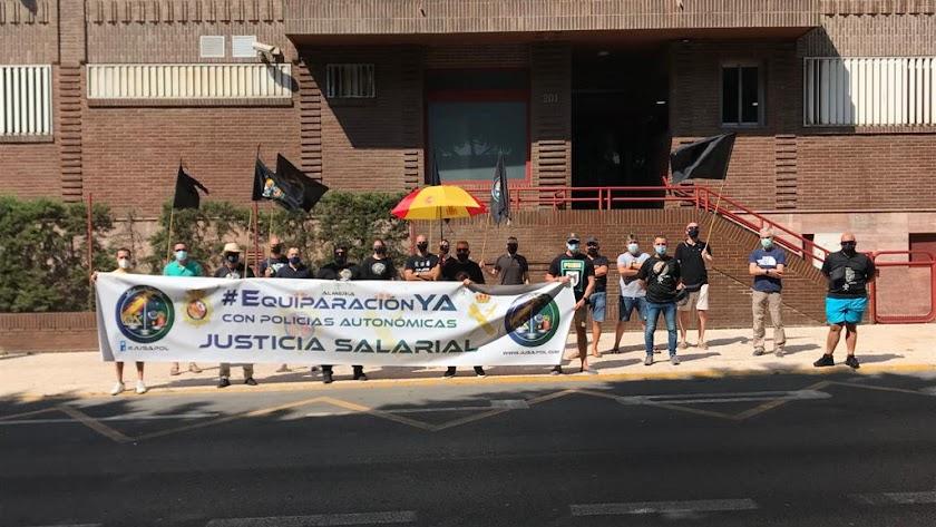 Concentración en Almería