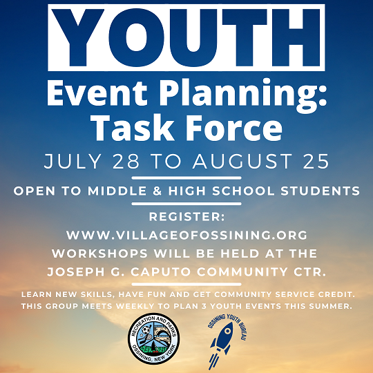 youth event planning task force