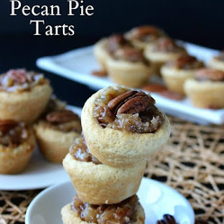 Over the Top Mini Pecan Pie Tarts