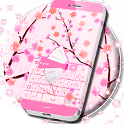 App Pink Spring Flowers Keyboard APK for Windows Phone