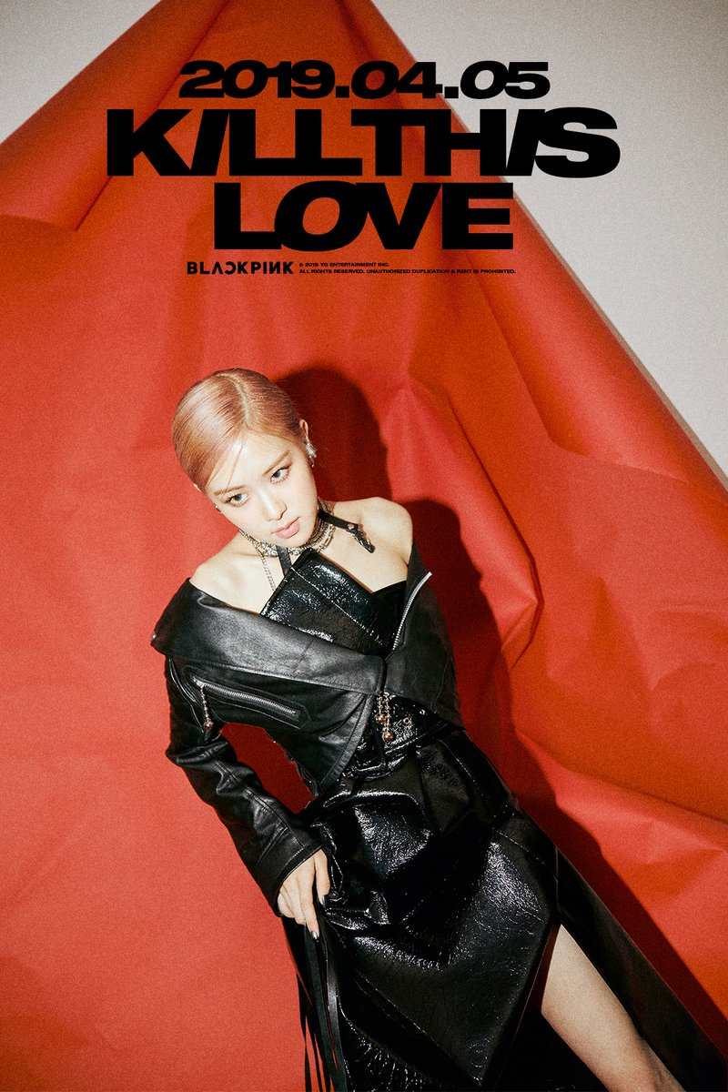 blackpink rose kill this love 1
