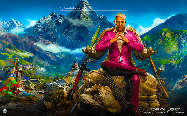 Far Cry HD Wallpapers New Tab Theme