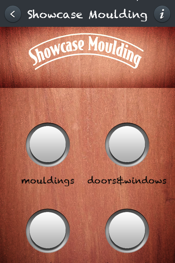Showcase Moulding- screenshot